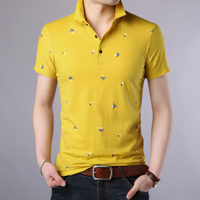 2018 New Fashion Polo Shirt Men Breathable Mens Polo Slim Fit Summer Shirts With Short Sleeve Turn Down Collar Brand Clothing 3