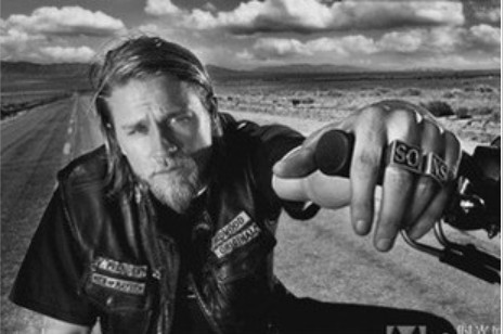 2013 Fashion jewelry bijoux jewelry. Sons of Anarchy Men's Rings