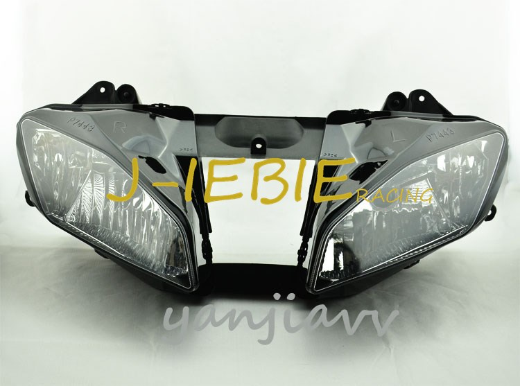 Front Headlight Head Light Lamp Assembly For Yamaha YZF R6 2008 2009 2010 2011 2012 2013