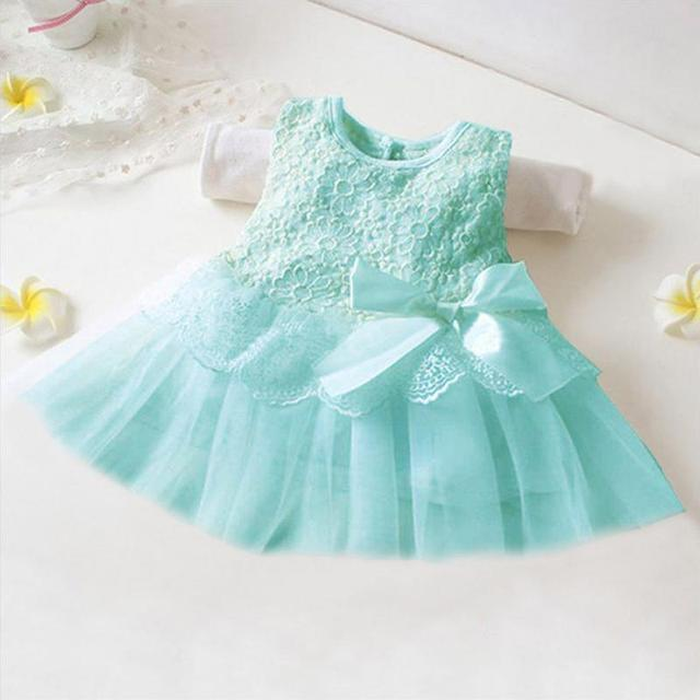 Blue dress for baby girl birth