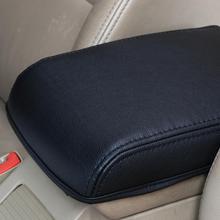 Автомобиль центральный ящик подлокотник защита кожаный чехол для 2015-2018 SKODA Octavia