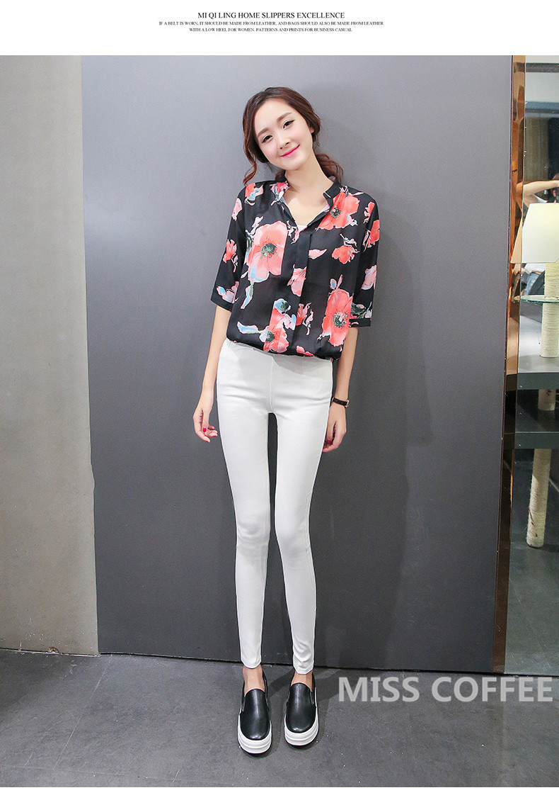 Free Shipping 17 New Autumn Fashion Pencil Jeans Woman Candy Colored Mid Waist Full Length Zipper Slim Fit Skinny Women Pants 7