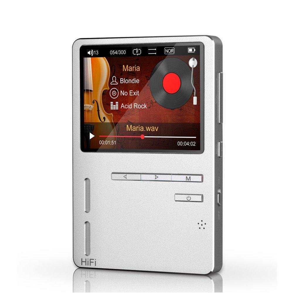 Original ONN X6 Hifi MP3 High Resolution Audio MP3 Player 8GB Screen FM Bass Speaker Support TF Card APE/FLAC/ALAC/WAV/WMA/OGG bluetooth audio receiver usb dac tf card mp3 decoding for car home speaker refit support format mp3 wma wav flac