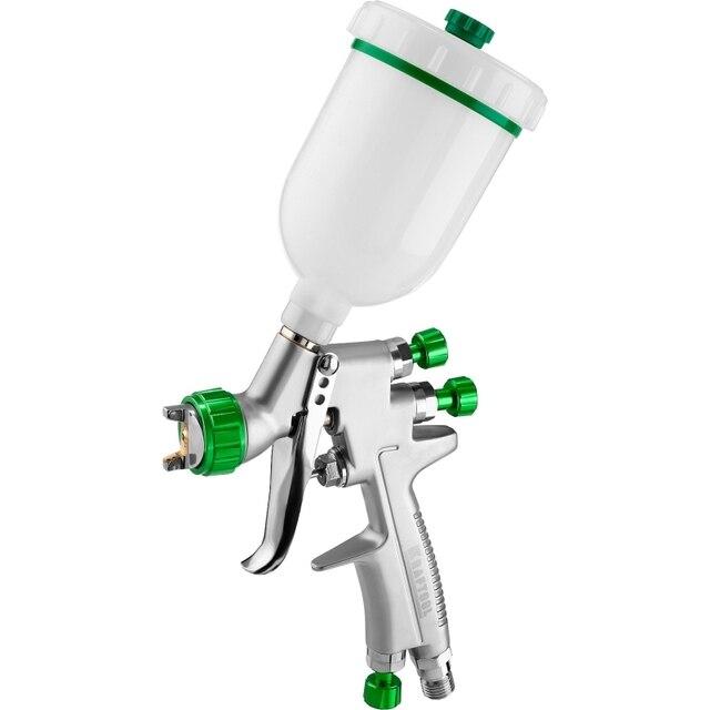 Краскораспылитель пневматический KRAFTOOL PRO Jeta 3000 mini (Объем бака 0,125 л,  HVLP технология, рабочее давление 3 б