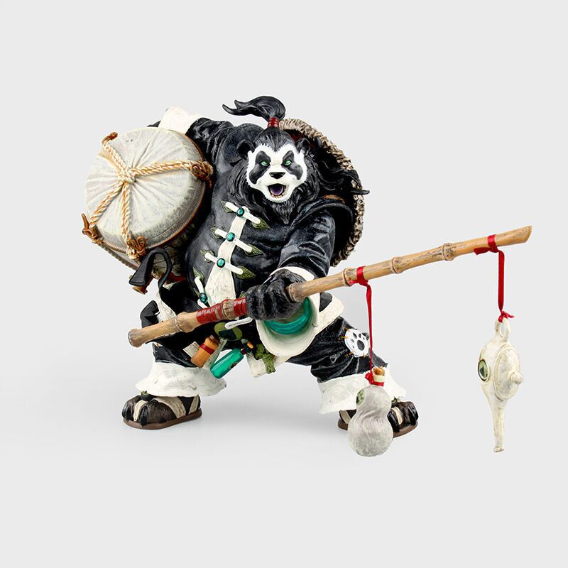 Pandaren Brewmaster Chen Stormstout Collectible Action Figures PVC Brinquedos Figurals Man Gift For Birthday Doll Kids Toys