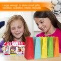 50 шт крафт-бумага конфеты подарок сувенир сумки для свадьбы День рождения Рождество тема все для праздника карнавал случайные цвета
