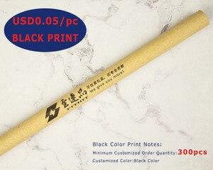 Image 2 - הרבה 50 יחידות Eco רזה נייר כדור עט, ידידותי לסביבה, הוגן לפרסם כדורי, מותאם אישית קידום החברה טקסט & לוגו מתנה