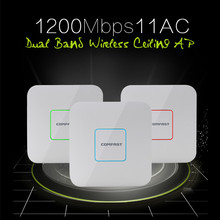 COMFAST 1200M wireless Ceiling AP 2.4G/5G Dual band Wifi Signal Amplifier Repeater 802.11 AC Wifi Router 48V POE Access Point AP