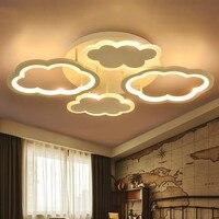Bulutlar led tavan ışıkları boys/kızlar prenses çocuk odası yatak odası tavan lambaları anaokulu karikatür aydınlatma ZS503616