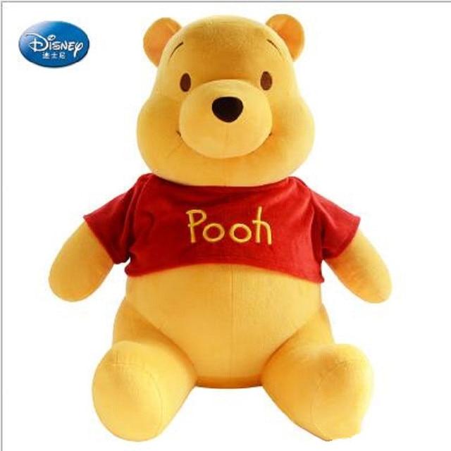 Disney Winnie The Pooh Pooh Urso Boneca de Brinquedo de Pelúcia Recheado Bonecos de Pelúcia Brinquedos Presentes de Aniversário para Crianças