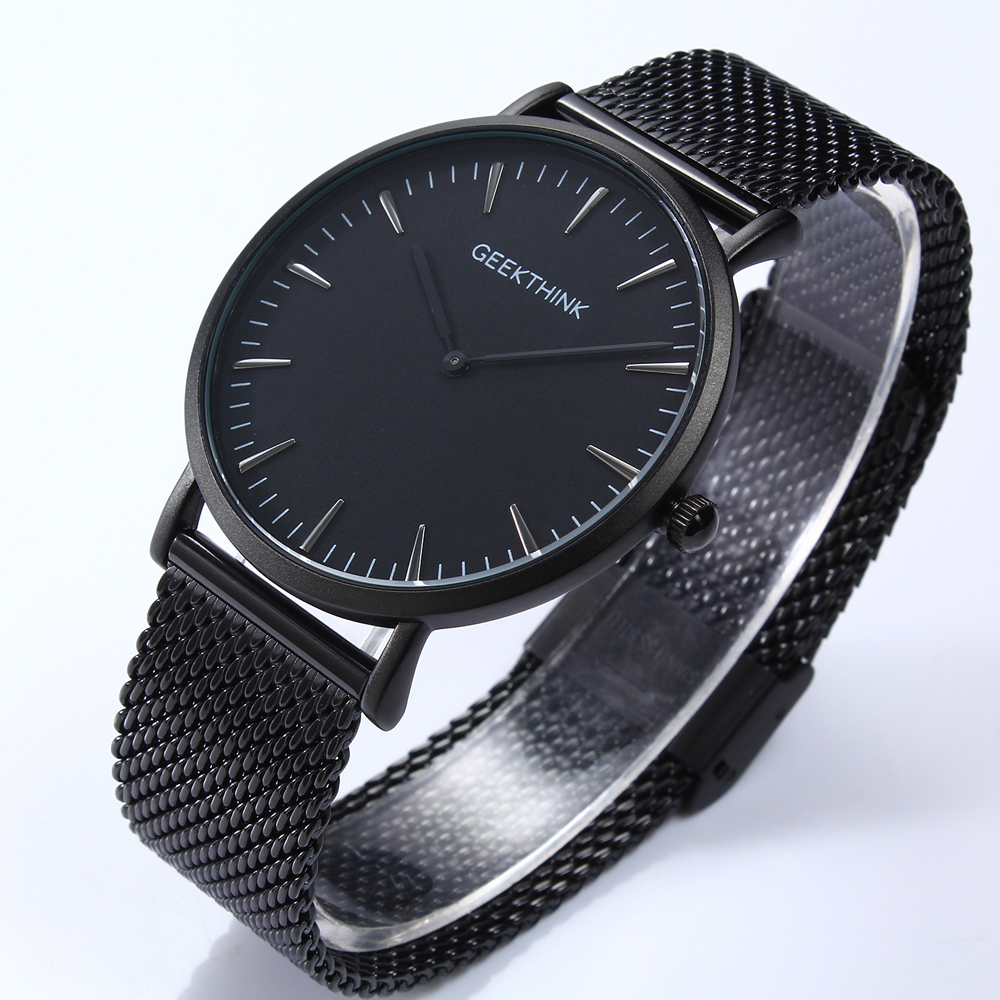 watches cristallo strap black metal mesh ladies with watch bling