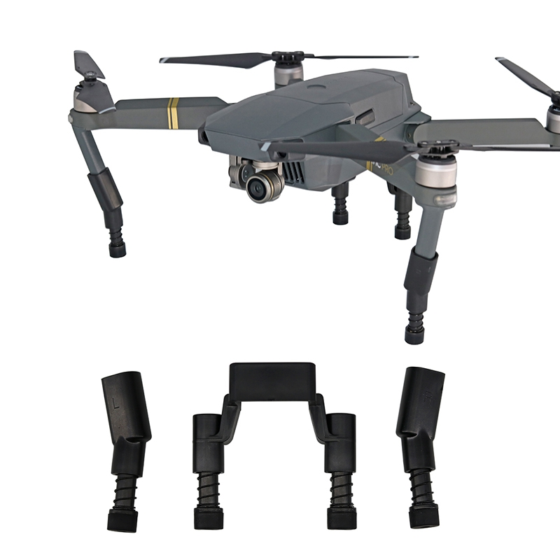 Landing Gear Kits for DJI Mavic Pro Platinum Drone Protector Guard Heightened Leg with soft Spring Shockproof  Feet Parts