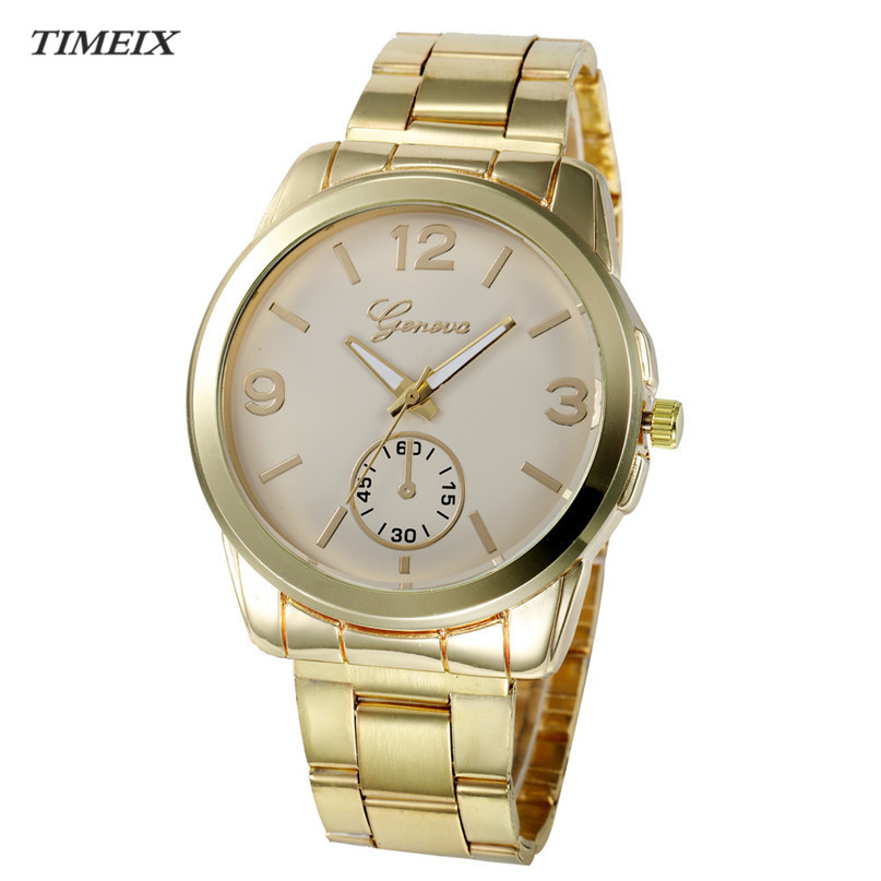 Luxury Watch Women 2017 Stainless Steel Waterproof Wristwatches Fashion Quartz Hour Wrist Analog Watch Sport Watch