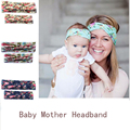New Cute headwear girls Baby Mother Headband Paternity Style Cross Knot Beautiful Comfortable Hair Accessories free shipping
