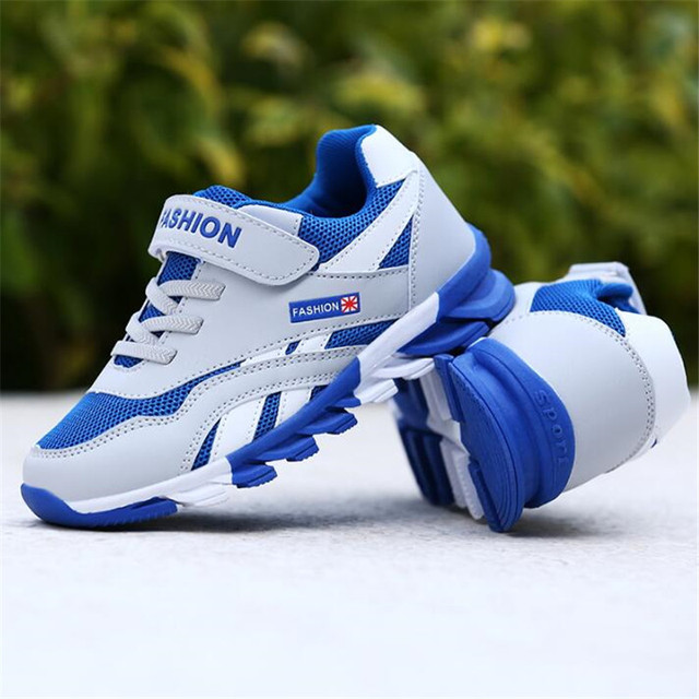 Children Shoes 2018 New Boys Sneakers Girls Sport Shoes Size 26-39 Child  Leisure Trainers Casual Breathable Kids Running Shoes f04c2f74d13b
