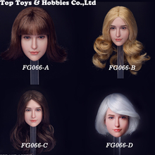 Fire Girl Toys FG066 1/6 Scale Europe and America Sweet Female head carving for 12 figure boy accessory