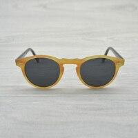 094aedc3777c9 Lente Polarizada óculos de sol do vintage oliver Gregory Peck OV5186 Marca  Designer homens mulheres Óculos
