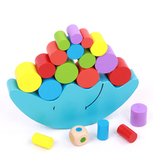 puzzle  Baby children toys moon balance building educationa early learning learning toys wooden toys детская гитара alex toys early learning string farm little han