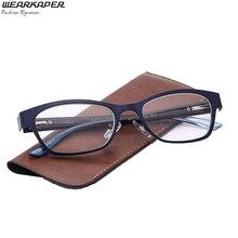 391df6e656 WEARKAPER Marca Blu Dell annata Delle Donne Occhiali Da Lettura Ad Alta  Lente di Vetro Cerniere a Molla Occhiali Gafas de lectur.
