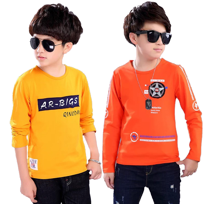 2018 New Fashion Baby Boy T Shirt Brand Clothing Hip Hop Letter Print Kids Top Tees Children's Short Sleeve Anime High Quality