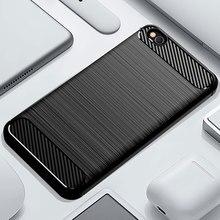 Caixa do telefone Para Xiaomi Redmi Ir Resistente Armadura de Silicone Suave TPU Capa XiaomiGo Xiomi Redmi Ir Redmigo Fundas Casos De Carbono coque