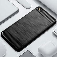 Funda de teléfono para Xiaomi Redmi Go silicona resistente armadura suave TPU cubierta Xiaomi Go Redmi Go Redmigo Xiomi fundas de carbono fundas Coque