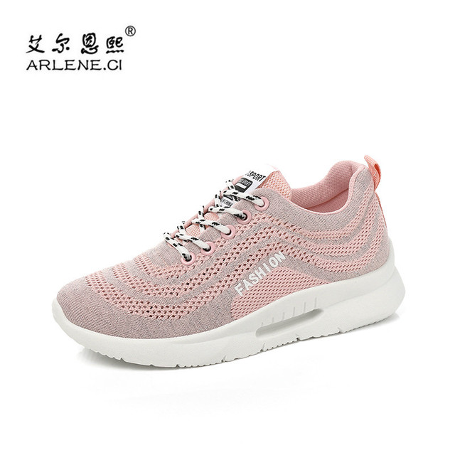 2018 Tenis Feminino New Breathable Mesh Sport Shoes For Women Tennis Shoes  Female Stability Athletic Fitness Sneakers Trainers c56c232890