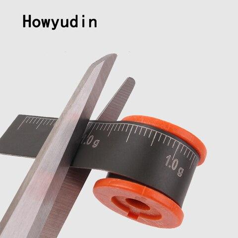 howyudin 2 pcs lote escala chumbo chumbada acessorios de pesca pesca da carpa de moldes