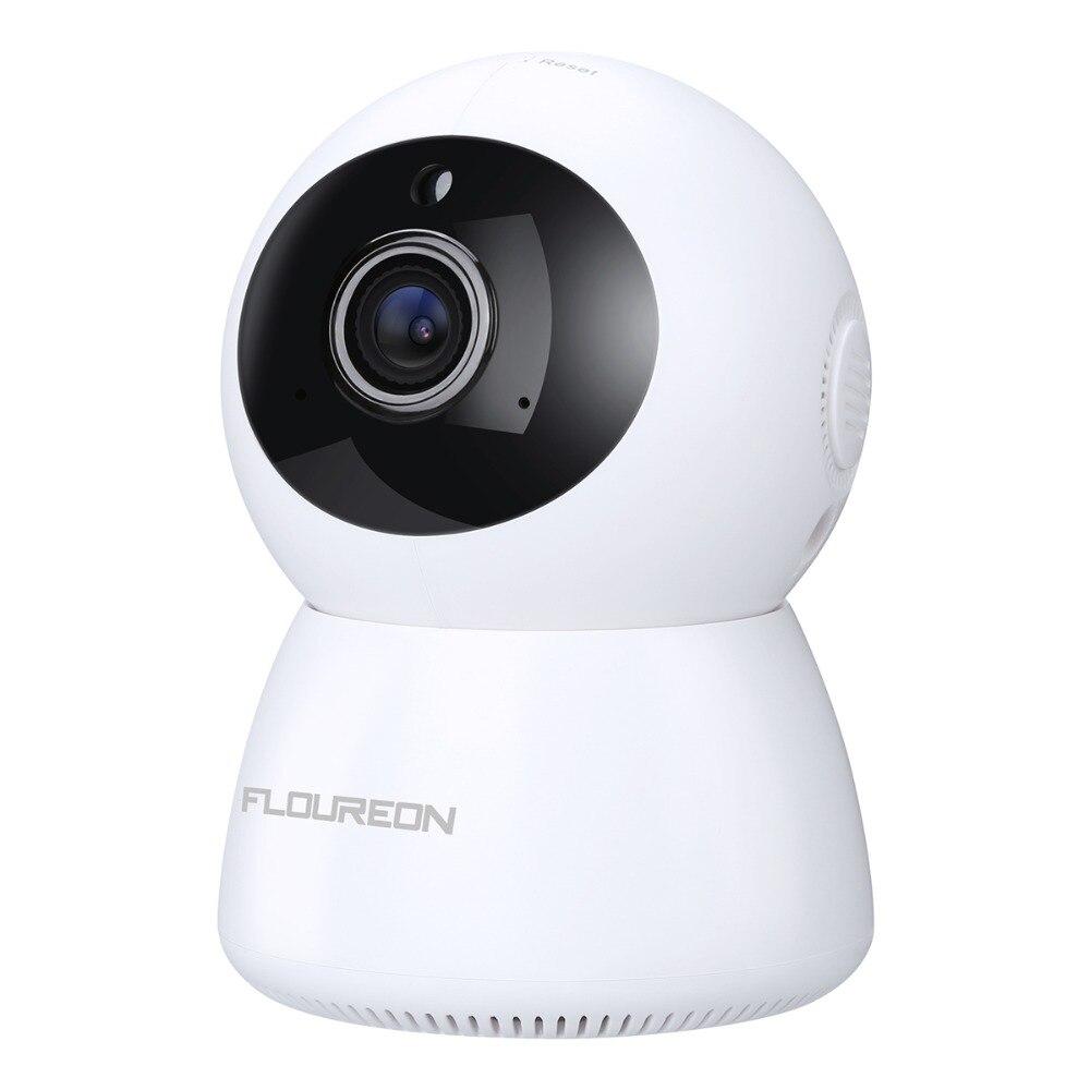FLOUREON 1080P HD WIFI wireless Home Security Surveillance CCTV IP Camera w//Mic