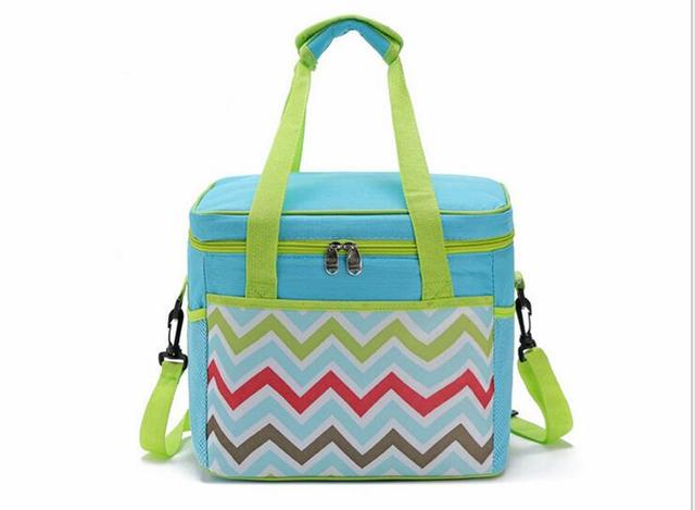 18L The new wave  Oxford cloth waterproof double insulation package  cooler bag
