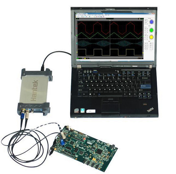 PC-base USB 32Channels Logic Analyzer 2G Memory Depth 150MHz 400MS/s bus analyzer and logic probe etc Hantek 4032L baraf s 2g