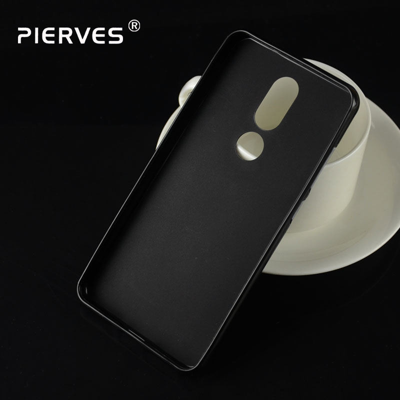 Pierves Ultra Thin Soft Silicone Gel TPU Protect Skin Back Case Cover For <font><b>BQ</b></font> <font><b>BQ</b></font>-<font><b>5700L</b></font> <font><b>Space</b></font> <font><b>X</b></font> image