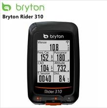 Bryton Rider 310 с поддержкой водонепроницаемого gps велосипедного велосипеда, беспроводной спидометр, крепление для велосипеда edge 200 500510 800810