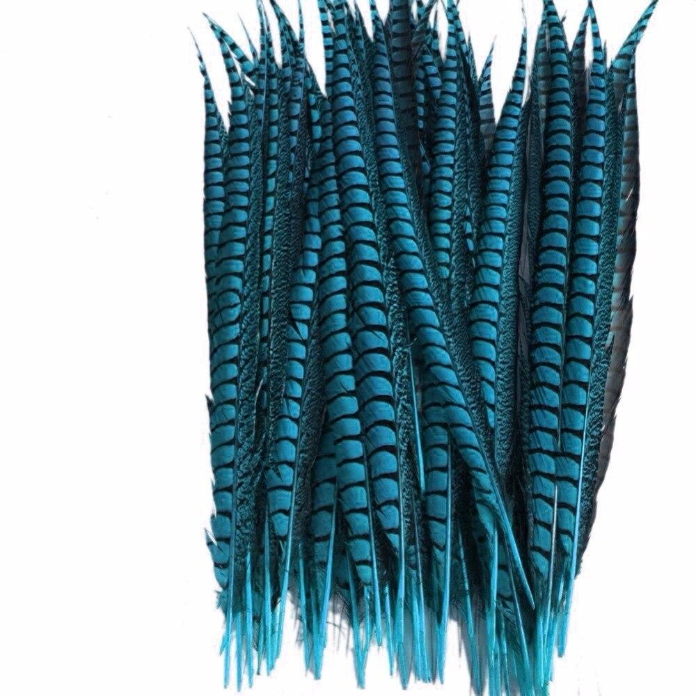 Venta al por mayor 100 pzas/unids/lote 12 14 pulgadas 30 35cm señora Amherst faisán cola plumas boda decoraciones faisán Natural plumas de pluma-in Pluma from Hogar y Mascotas    2