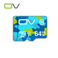 Ovメモリカードマイクロsdカードtfカード32ギガバイト16ギガバイト64ギガバイトクラス10 48メガバイト/秒ミニsdカード用携帯電話タブレット車dvr