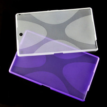X Line Matte TPU Gel Silicone Protective Skin Rubber Case Cover Pouch Sleeve Bag For Sony Xperia Z3 Tablet Compact SGP621/ 641