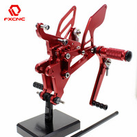 FOR YAMAHA YZF R6 yzf r6 2003 2005 2004 Aluminum Adjustable Motorcycle Rearsets Rear Sets Foot Pegs Pedal Footrest