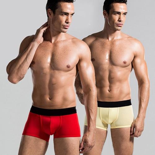 Men Male Fashion Sexy Stretchable Boxer Underwear Shorts Underpants Hot Sale