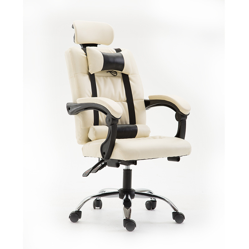 Computer Chair Household Work In An Can Lie Boss Chair Lift Swivel Chair Massage Footrest Class Chair Noon Break Cortex Chair computer chair can lie lifting boss chair leather swivel chair
