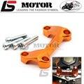 Per KTM duke125 duke200 duke390 DUKE 390 200 125 Alluminio del Motociclo Manubrio Riser Coperchio Superiore Morsetto Dirt Bike c