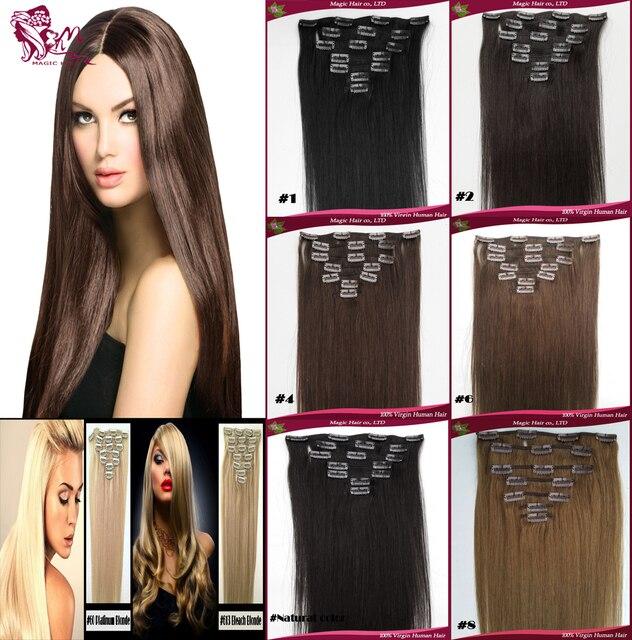 Best Seller Clip In Human Hair Extensions Hair Clips Tic Tac Hair