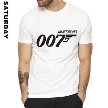 Movie Film James Bond 007 Design Funny T Shirt for Men and Women,Unisex Breathable Graphic Premium T-Shirt Men's Streewear