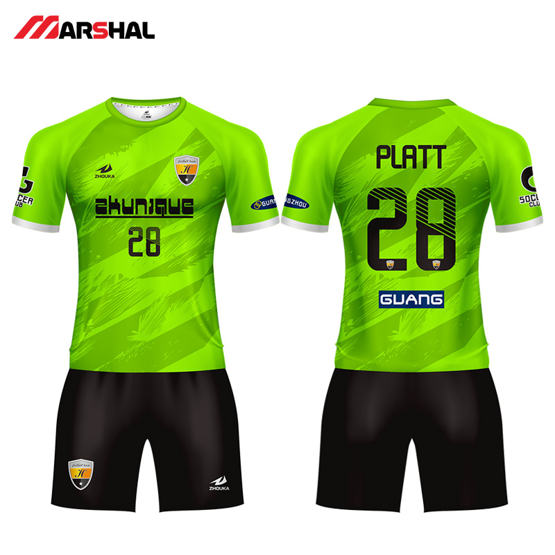 b17f121b2fa 2019 new Popular design football team uniforms soccer shirt maker custom  jerseys for sale with your own logo any colorful -in Soccer Sets from Sports  ...