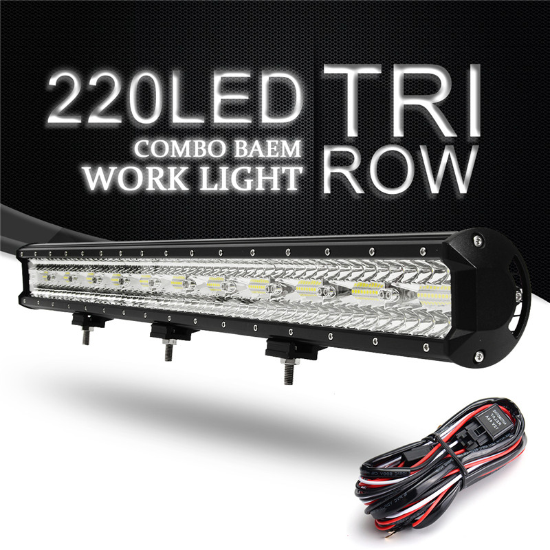 32inch LED Spot light Floodlight Combo Car LED Work light Bar 660W led Lamp for Tractor Boat OffRoad 4WD 4x4 Car Truck SUV ATV 30inch 180w led light bar for offroad boat car tractor truck 4x4 suv atv 10v 30v spot flood combo free shipping led driving lamp