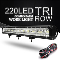 32inch LED Spot light Floodlight Combo Car LED Work light Bar 660W led Lamp for Tractor Boat OffRoad 4WD 4x4 Car Truck SUV ATV