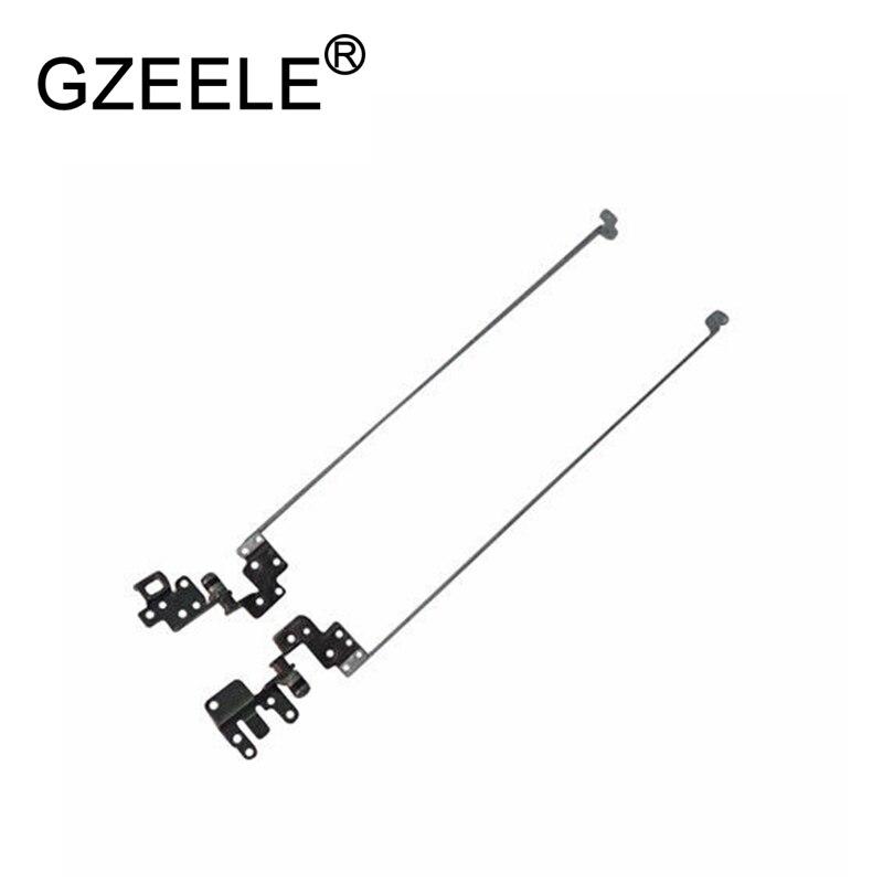 GZEELE Novo para Acer Aspire E5-575 E5-575G E5-575T E5-523 E5-553 E5-576 F5-573 Conjunto FBZAA014010 FBZAA015010 LCD Dobradiças L & R dobradiça