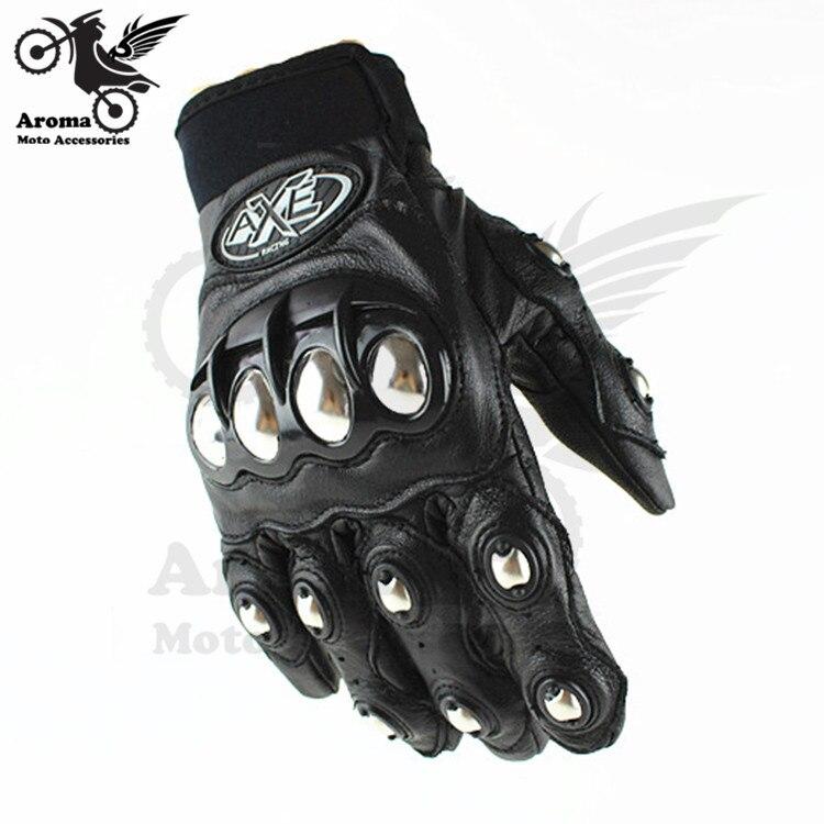 top quality <font><b>motorcycle</b></font> <font><b>gloves</b></font> 3D motorbike <font><b>Protective</b></font> Gears Metal Aluminum motocross <font><b>racing</b></font> <font><b>glove</b></font> Leather 2015 <font><b>AXE</b></font> brand new hot
