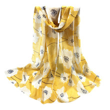 Fashion Scarves For Women Ladies Scarf Floral Infinity