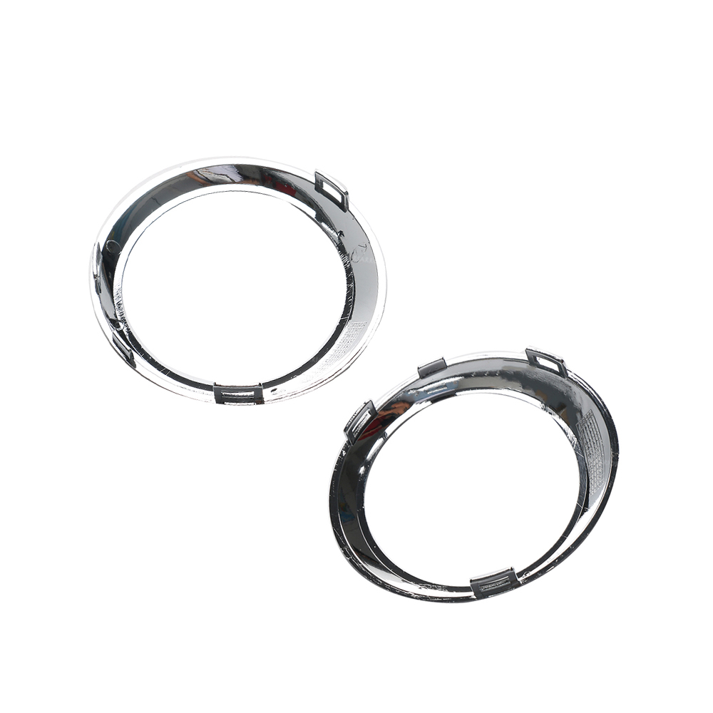Front Bumper Fog Light Chromed Bezel Cover 1 Pair Right And Left Side 2518850374 2518850474 Fit For Mercedes Benz W251 R320 R350