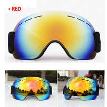 d8e3c7a3c302 Adult Ski Glasses Anti-fog Dual-Lens UV Skiing Goggles Snow Skiing  Snowboard Winter